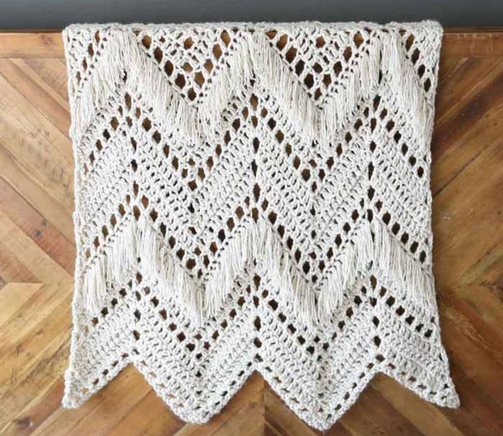 40+ Modern Crochet Afghan Patterns - Dream a Little Bigger
