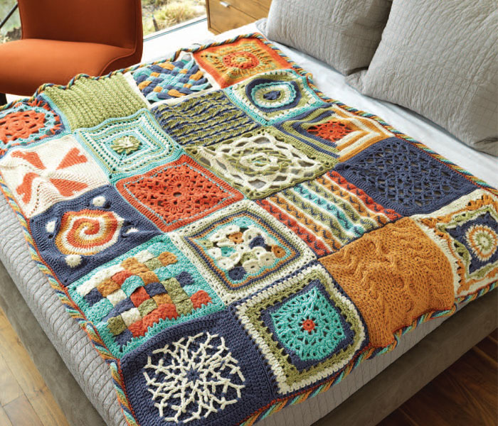 Crochet Afghan Patterns: How to Modify Afghans to Any Size   Interweave