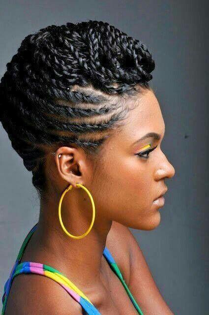 17 Creative African Hair Braiding Styles in 2019 | hair | Natural