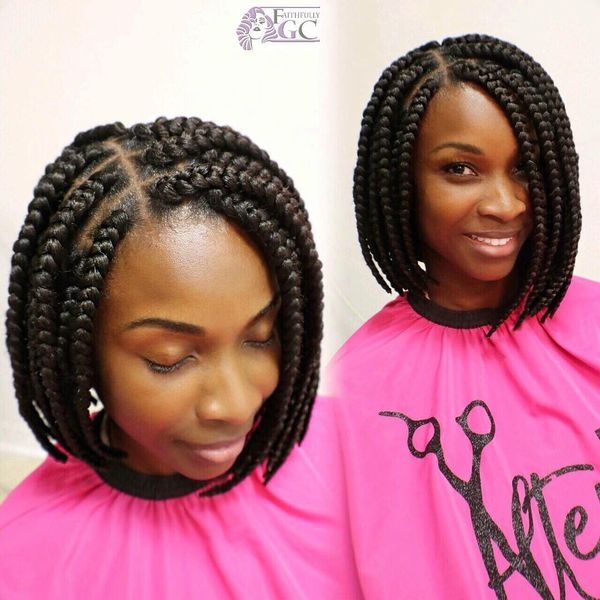 African Braids Hairstyles, Pretty Braid Styles for Black Women