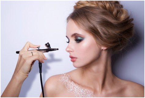 How to use TEMPTU airbrush makeup kit? - Hair Extension Beauty