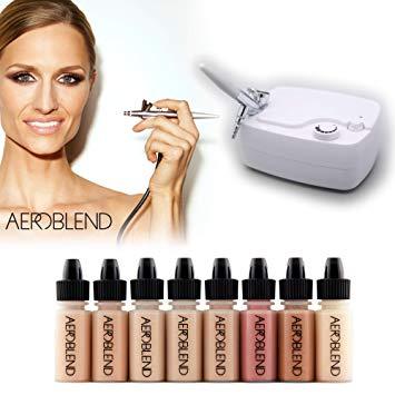 Amazon.com: Aeroblend Airbrush Makeup Personal Starter Kit