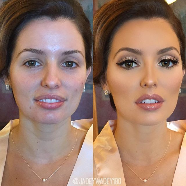 Airbrush makeup reviews for wedding - Wedding day