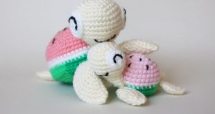 Watermelon turtles u2013 amigurumi patterns - Amigurumi Today