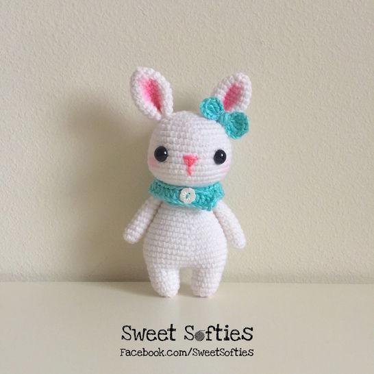 Remi the Rabbit (Twee Toys Collectible Series) - Amigurumi Crochet