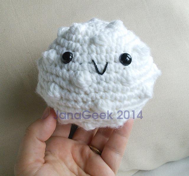 Ravelry: White Blood Cell Amigurumi Crochet pattern by Jana Whitley