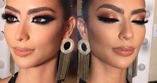 Arabic makeup #alcantaramakeup #hudabeuaty #anastasiabeverlyhills