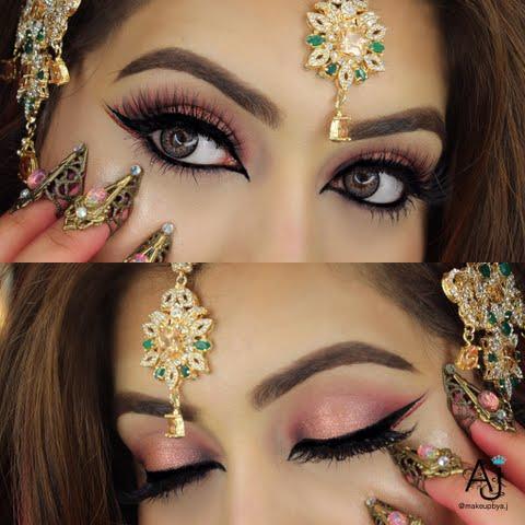 Arabic Eye Makeup | Preen.Me