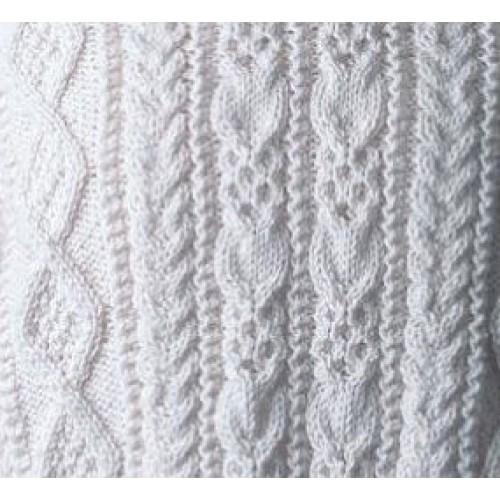Walsh Clan Aran Knitting Pattern - Posted