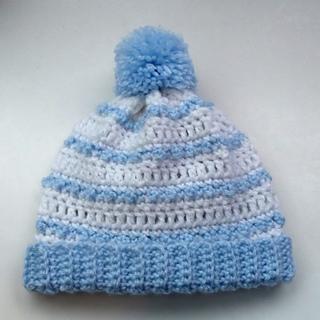 Ravelry: Striped Baby Hat pattern by Rhelena's Crochet Patterns
