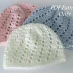 Varities of baby beanie crochet pattern