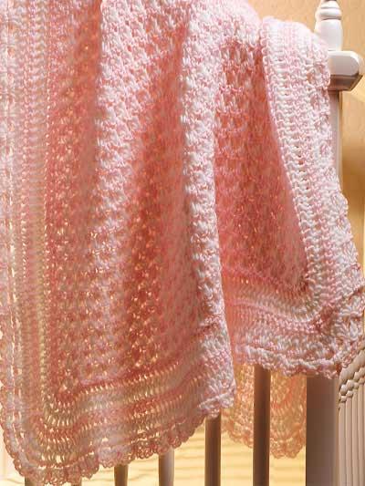 Crochet Pattern Ideas for Baby Blankets | Free-Crochet Ideas