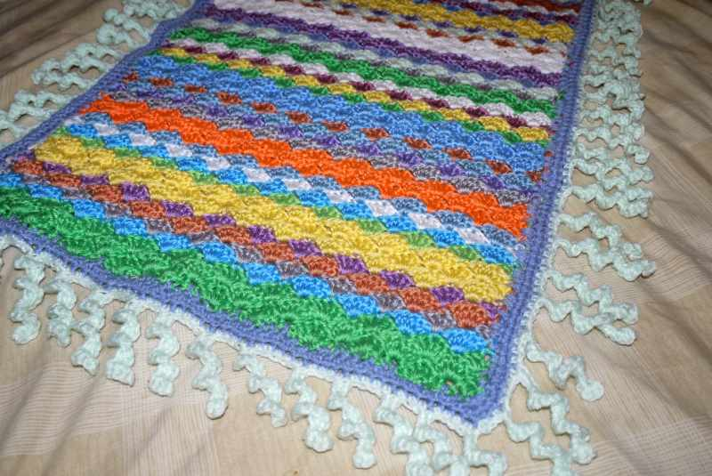 Baby blanket crochet patterns - design and make your own