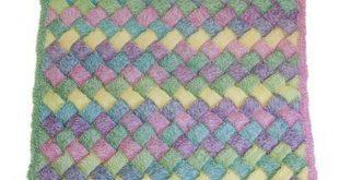 Cascade Yarns W508 Entrelac Baby Blanket (Free) at WEBS   Yarn.com