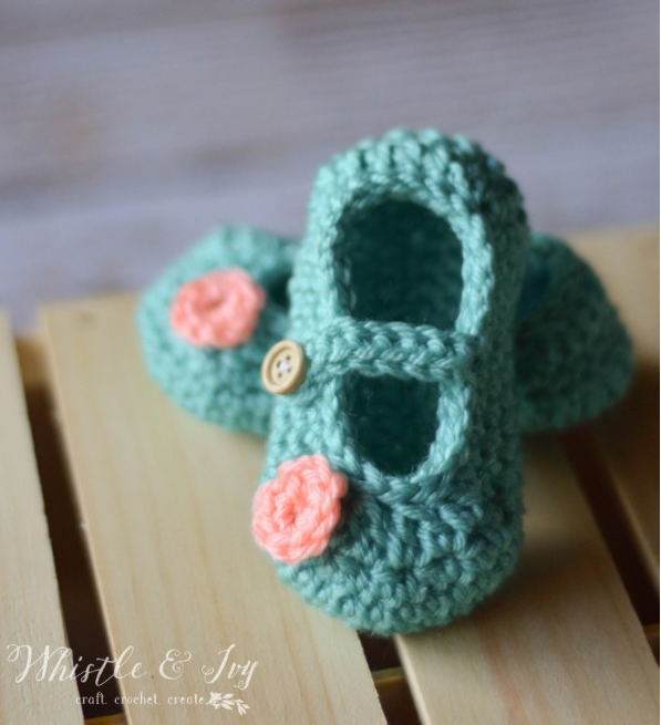 IDEAS FOR YOUR baby booties crochet