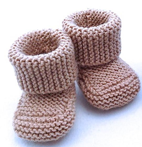 Oh Baby! Baby Booties - Knitting Patterns and Crochet Patterns from