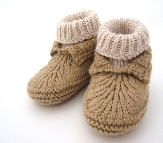 Baby Booties Knitting Patterns - In the Loop Knitting