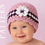 Beautifull and elegant baby crochet hats
