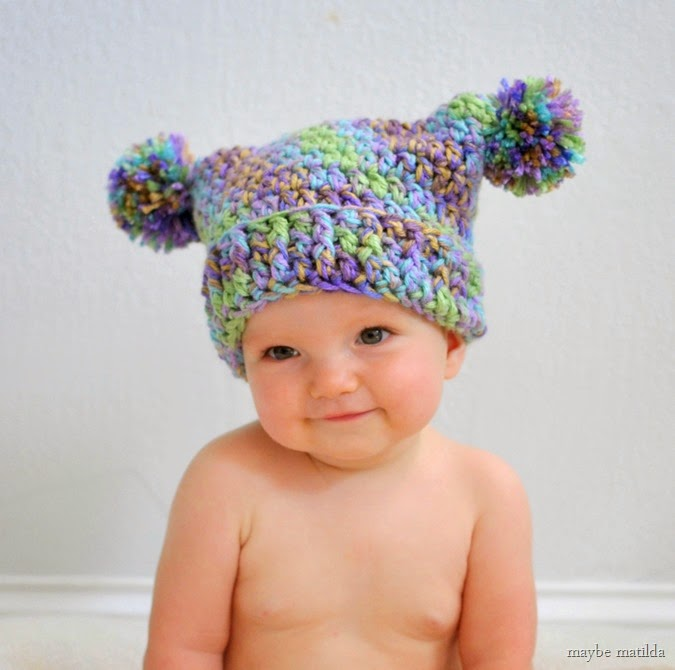 Chic and Cozy: These Baby Crochet Hats Are Simply Adorable!