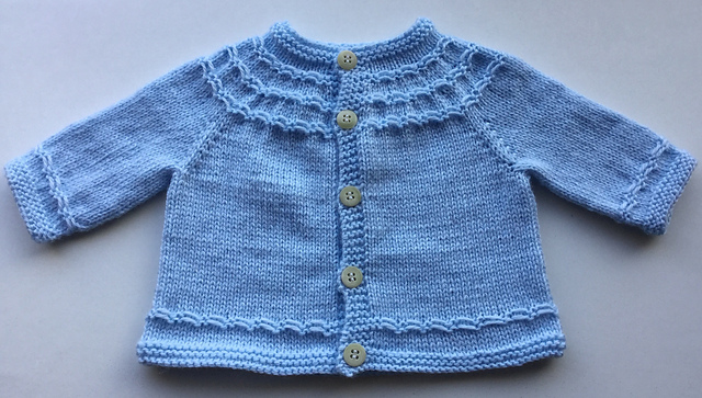 Baby Cardigan Sweater Knitting Patterns - In the Loop Knitting