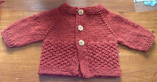 Ravelry: Fuss Free Baby Cardigan pattern by Louise Tilbrook
