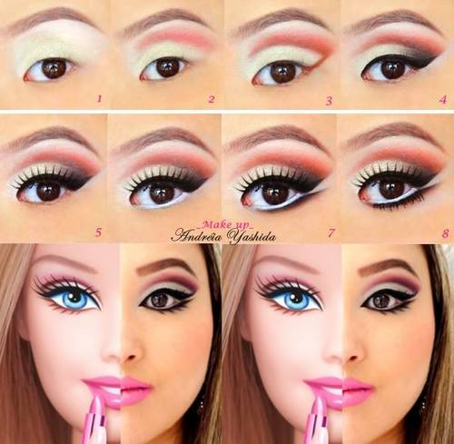 Make Up Barbie discovered by @alinecenteno on We Heart It