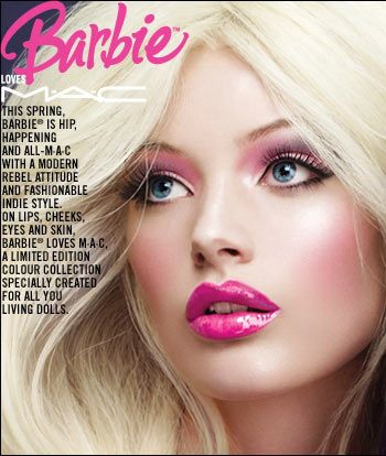 Barbie Makeup by MAC-loved this line! | Makeup | Pinterest | Barbie