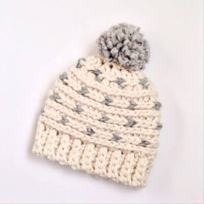 A Free Crochet Beanie Pattern The Whole Family Will Love
