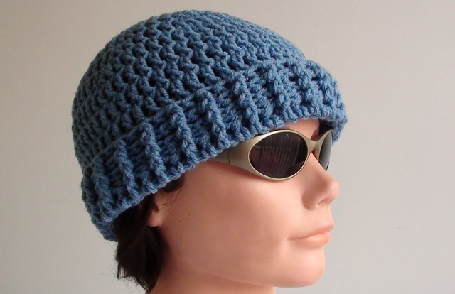 Men's Crochet Beanie Pattern u2013 Crochet Hooks You
