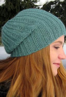 Pearmain Slouchy Beanie - Knitting Patterns and Crochet Patterns