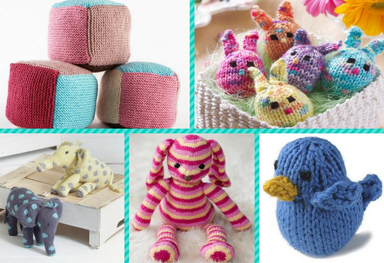 10 (Free) Beginner Knitting Patterns for Fun Toys! | Knitting Women