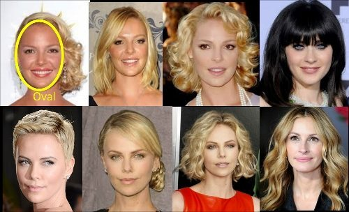 Best Hairstyles for Your Face Shape - Oval Face Shape