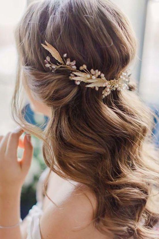 25 Best Wedding Hairstyle Ideas and Inspiration 2018 | Wedding