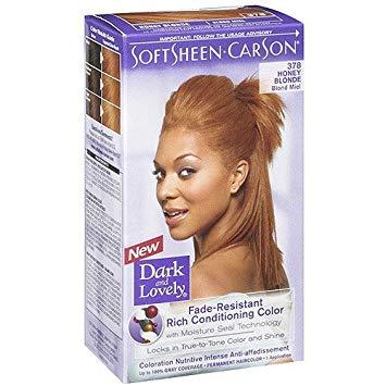 Amazon.com : Dark & Lovely Honey Blonde Hair Colour : Chemical Hair
