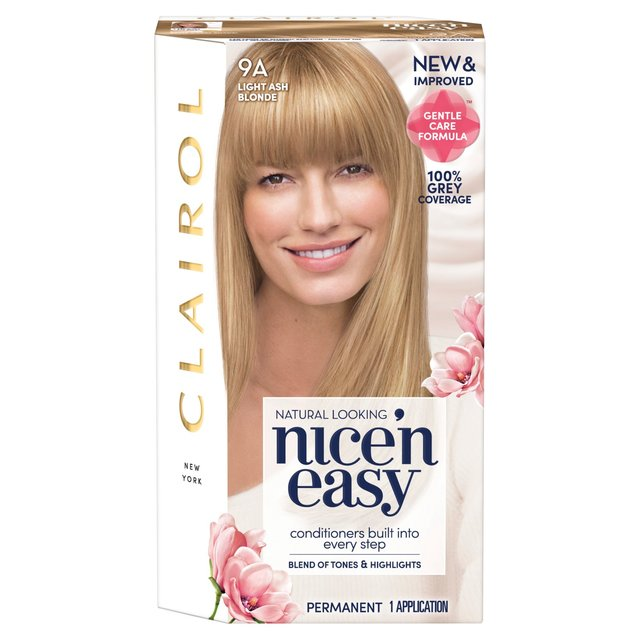 Morrisons: Nice 'N Easy Permanent Colour 102 Natural Light Ash