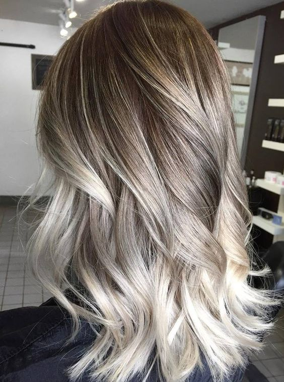15 Amazing Ash-Blonde Colored Hairstyle Ideas 2019 | Hairstyle Guru