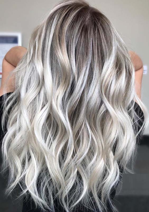 15 Charming Long Blonde Hairstyles & Haircuts for 2018 | Modeshack