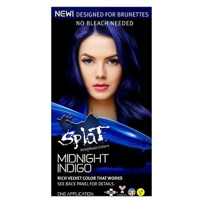 Splat Midnight Hair Color - Indigo - 6.0oz : Target