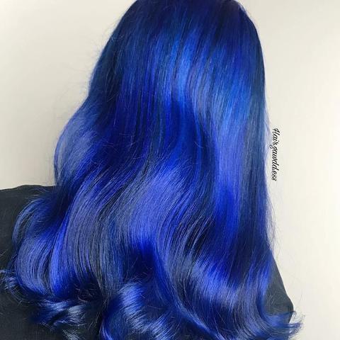 Iroiro 40 Blue Natural Vegan Cruelty-Free Semi-Permanent Hair Color