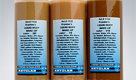 Kryolan Liquid Body Make Up - Permanent Cosmetics