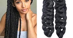 Amazon.com : HVAXING 82 inch Ombre Jumbo Braiding Hair Extensions