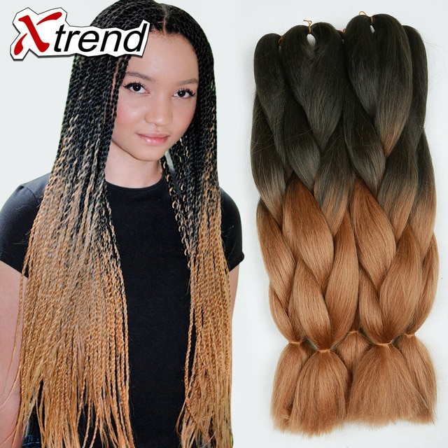 braids synthetic hair extensions 24inchsenegalese twist braiding
