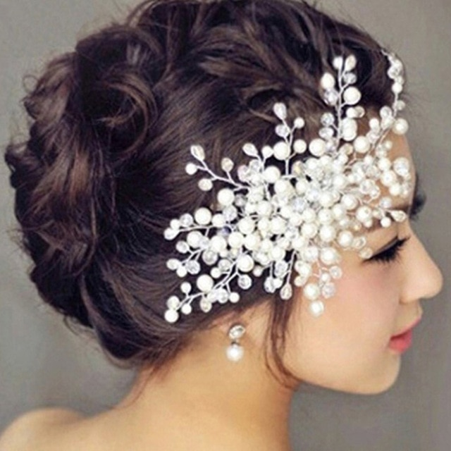 Bridal Headpiece Headband Wedding Bride Hair Accessories Crystal