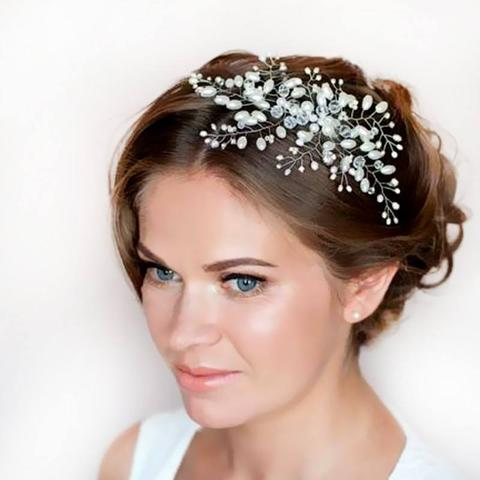 Imitation Pearl Bridal Hair Accessories Bridal Hair Combs Hairpin