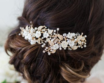 Wedding Hair Accessories | Etsy