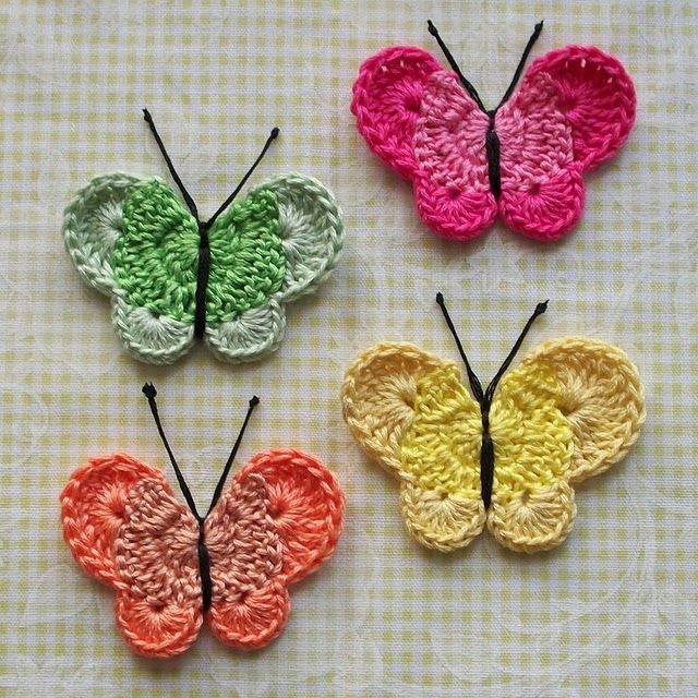 Printable Butterfly Crochet Patterns | free crochet patterns free
