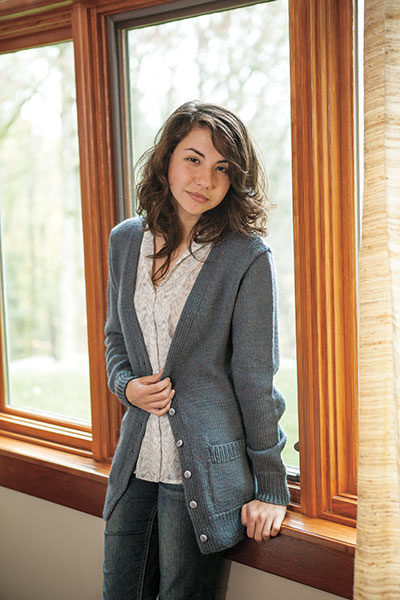 Boyfriend Cardigan - Knitting Patterns and Crochet Patterns from