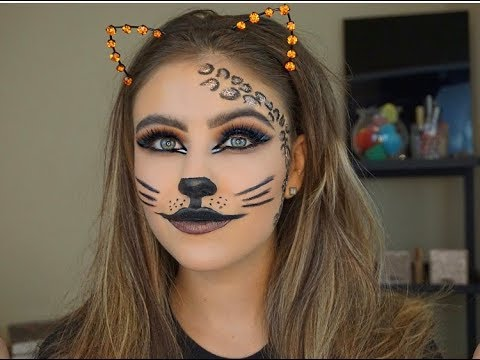 Glam Cat Makeup Tutorial | Marki Rochelle - YouTube