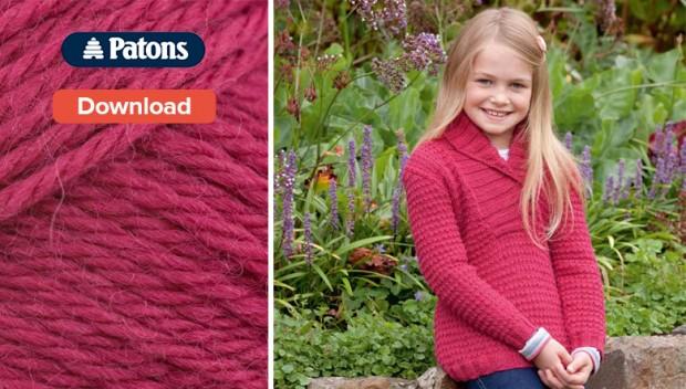 Free Patons children's knitting pattern u2022 LoveKnitting Blog
