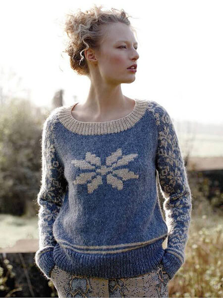 Free Christmas sweater knitting and crochet patterns